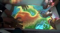 SOSYAL BILGILER - Ortaokul Öğrencilerinden 'Artırılmış Gerçeklik Havuzu'