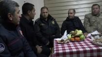 TUGAY KOMUTANI - Şırnak Valisi Aktaş, Yeni Yılı Namazdağı'nda Karşıladı