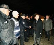 Vali Köşger Yeni Yıla Güvenlik Güçleriyle Birlikte Girdi