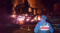 Yangın Nedeniyle Yeni Yılda Evsiz Kaldılar