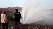 Adıyaman'da İçme Suyu Borusu Patladı