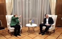 BAŞBAKANLIK - Almanya Başbakanı Angela Merkel Atina'da