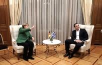 BAŞBAKANLIK - Almanya Başbakanı Merkel Atina'da