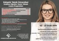 YABANCı DIL - Anadolu Üniversitesi 'Tezsiz Yüksek Lisans' Başvuruları Başladı