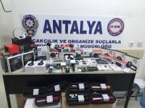 ELEKTRONİK EŞYA - Antalya'da Kaçak Telefon Operasyonu