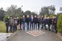 ARITMA TESİSİ - Başkan Ersoy, Gazeteciler İle Bir Araya Geldi