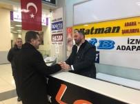 ŞEHİRLERARASI OTOBÜS - Başkan Yılmaz, Seçim Çalışmalarına Devam Ediyor