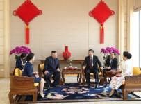 KORE YARIMADASI - Çin Ve Kuzey Kore Liderleri Görüştü