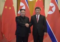KORE YARIMADASI - Çin Ve Kuzey Kore Liderleri 'Trump-Kim' Zirvesini Ele Aldı