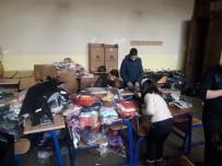 Erdek'ten Uludere'ye Giyim Yardımı