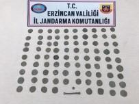 Erzincan'da 89 Adet Sikke Ve 1 Adet Tarihi Obje Ele Geçirildi