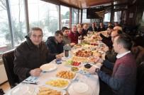 BASıN İLAN KURUMU - Gazeteciler Kahvaltıda Bir Araya Geldi