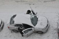 Kars'ta 76 Köy Yolu Ulaşıma Kar Engeli