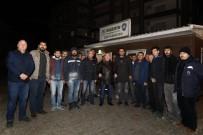 CAN GÜVENLİĞİ - Mardin Valisi Yaman, Karla Mücadele Çalışmalarını Yerinde İnceledi