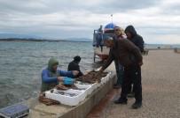 ORKİNOS - Olumsuz Hava Koşulları Balıkçıları Etkiledi