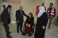 Patnos'ta 23 Engelliye Tekerlekli Sandalye Dağıtıldı