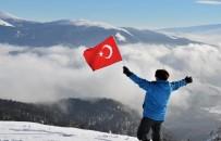 Sarıkamış'ta Kar Manzaraları Ve Soğuk Hava