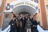 Vali Akbıyık, Gazetecilerle Bir Araya Geldi