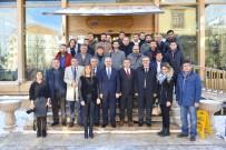 Vali Akın, 2 Günde 2 Cemiyetin Gazeteciler Günü Programında Basın Çalışanları İle Bir Araya Geldi