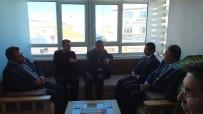 Vali Aktaş, Kapadokya Gazeteciler Cemiyeti'ni Ziyaret Etti