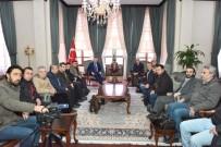 BAKANLAR KURULU - Vali Soytürk Gazetecileri Kabul Etti