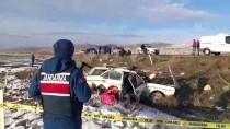 Aksaray'da Otomobil Şarampole Devrildi Açıklaması 1 Ölü, 1 Yaralı