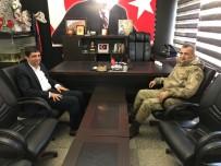 İBRAHİM ASLAN - Albay Atasoy Başkan Aslan İle Bir Araya Geldi