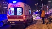 ÇUKURAMBAR - Başkentte Trafik Kazaları Açıklaması 2 Yaralı