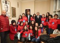 ÜLKÜ OCAKLARı - Beykoz Belediye Başkan Adayı Aydın'dan Vatandaşlara Ve Derneklere Ziyaret