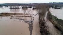 Ergene Nehri'nin Debisinin Yükselmesi