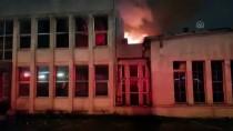 EDIRNEKAPı - Eyüpsultan'da Fabrika Yangını