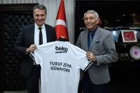 YUSUF ZIYA GÜNAYDıN - Fikret Orman'dan Başkan Günaydın'a Beşiktaş Forması