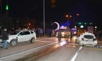 ÇAVUŞLU - Giresun'da Zincirleme Kaza Açıklaması 2 Yaralı