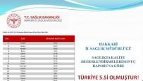 HAKKARİ VALİSİ - Hakkâri, Sağlıkta Türkiye Beşincisi Oldu