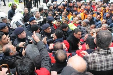 İşçilere Müdahalenin Ardından ESHOT Bir Süreliğine Kontak Kapattı
