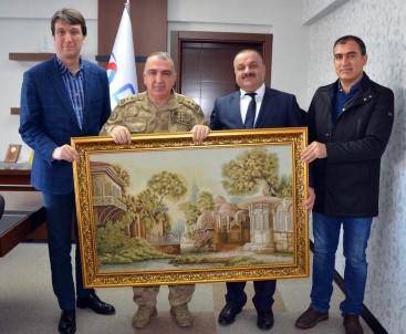 Jandarma Bölge Komutanı Tümgeneral Koç, Dicle Elektrik'i Ziyaret Etti