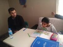 Kahta'da 17 Öğrenci Evde Eğitim Alıyor