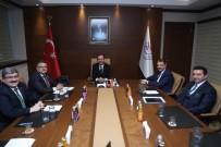 Mehmet Kasapoğlu - Kapalı Yüzme Havuzu Projesi İçin Çalışmalar Başladı