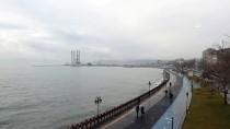 MARMARA DENIZI - Marmara'da Lodos Etkisini Sürdürüyor