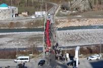 TÜRKÇE ÖĞRETMENI - Mereto Dağı Eteklerinde Sarıkamış Şehitleri Anma Programı Düzenlendi