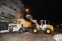 Nevşehir'de Kent Merkezinde Kar Temizliği Sona Erdi