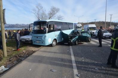 Ordu'da Zincirleme Trafik Kazası Açıklaması 2 Ölü