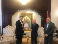 TÜRKMENISTAN - Rektör Polat, 4 Ülkenin Ankara Büyükelçilerini Ziyaret Etti