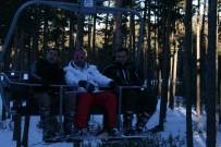 Sarıkamış'ta Kar Kalınlığı 90 Santimetreye Ulaştı