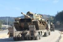 KOMANDO - Suriye sınırına askeri araç sevkiyatı