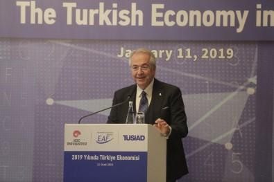TÜSİAD Başkanı Bilecik Açıklaması 'İş Dünyası Olarak 2019 Yılından Beklentimiz Yüksek'