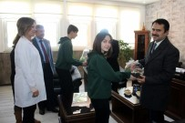 Vali Aktaş, Kardelen Koleji'ni Ziyaret Etti
