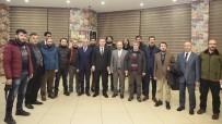Vali Elban Basın Mensupları İle Bir Araya Geldi