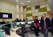 MEHMET BAHADıR - Vali Şentürk'ten 112 Acil Çağrı Merkezi'nde İnceleme