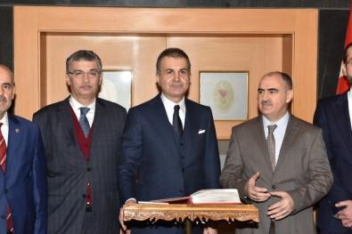 AK Parti Sözcüsü Çelik, Kahramanmaraş'ta Valilik Ve Belediyeyi Ziyaret Etti